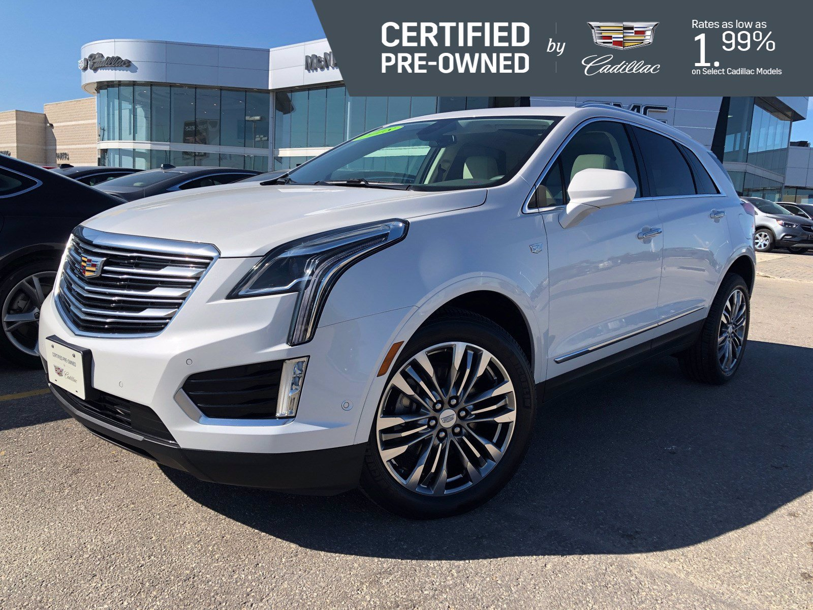 Certified Pre-Owned 2018 Cadillac XT5 Premium Luxury AWD ...