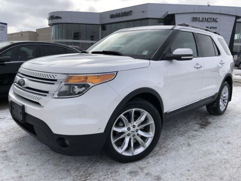 2014 Ford Explorer Limited 4WD | Front & Rear Heated Seats