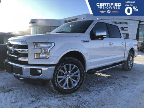 Pre-Owned 2016 Ford F-150 Lariat 5.0L V8 4x4 Crew Cab | Heated & Cooled Seats