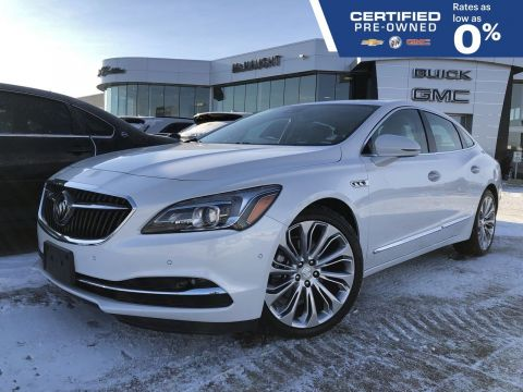 Certified Pre-Owned 2017 Buick LaCrosse Premium AWD | Head's Up Display (HUD) | Sunroof