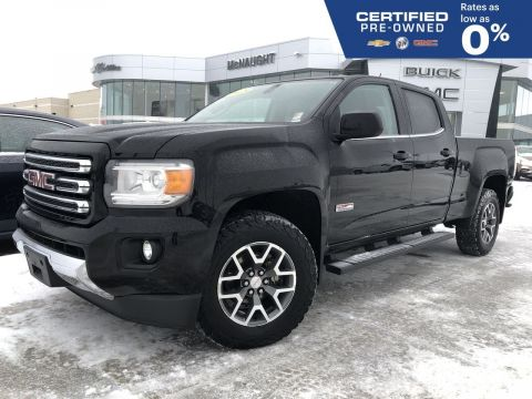 Certified Pre-Owned 2015 GMC Canyon SLE All-Terrain 4x4 Crew Cab Long Box | Bose Audio