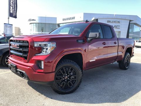 2019 GMC Sierra 1500 4WD Elevation (Custom Build)