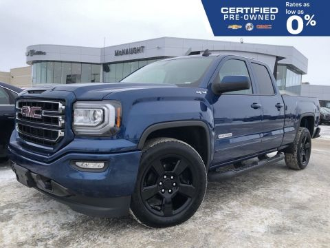 2018 GMC Sierra 1500 Elevation 4x4 Double Cab | Touchscreen Radio