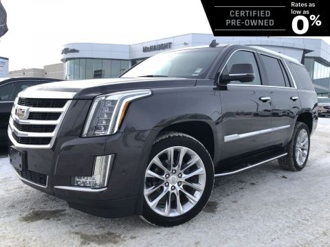 Certified Pre-Owned 2018 Cadillac Escalade Luxury 4x4 | Navigation | Cooled Seats