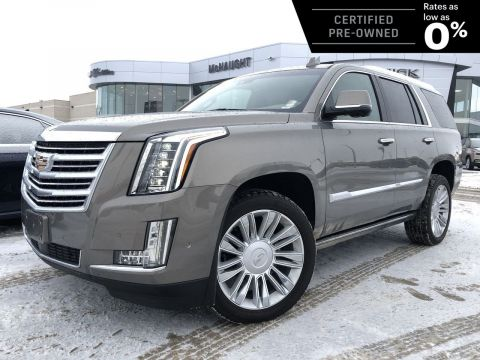 Certified Pre-Owned 2019 Cadillac Escalade Platinum 4WD | Massaging Seats | 3 DVDs