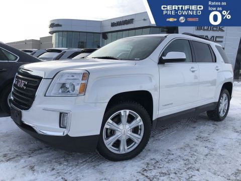 Certified Pre-Owned 2017 GMC Terrain SLE 3.6L AWD | Heated Seats | Pioneer Audio